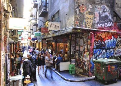 Melbourne's World famous laneways